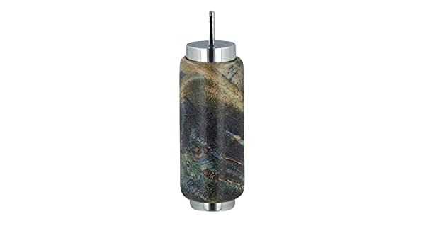 Perfect Memorials Starry Night Wood Cylinder Memorial Jewelry