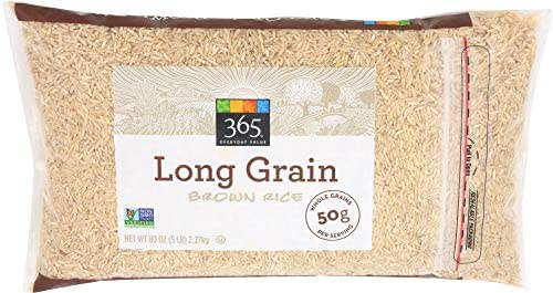 Rice: 365 Everyday Value Long Grain Brown Rice