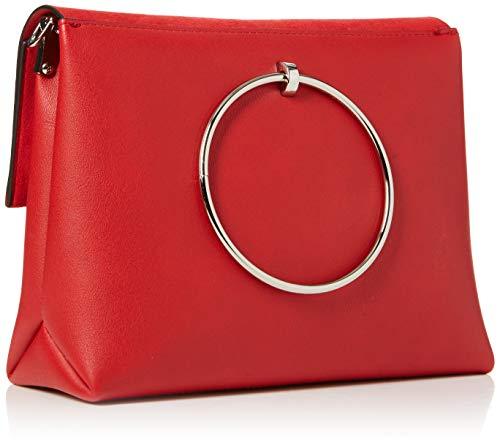 épaule Rouge Red Handle Bright Matilda portés New Sacs Metal Look z0ZHvqY