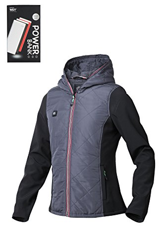 Pau1Hami1ton Women's Workwear Lightweight Outdoor Thermal Full-Zip Hooded Jacket Use Your Own 5v/2a(Power Financial institution) – DiZiSports Store