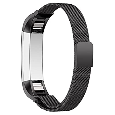 GinCoband Milanese Loop Replacement Bands for Fitbit Alta Fitness Tracker Fitbit Alta Bands Stainless Steel with Magnetic Closure Clasp