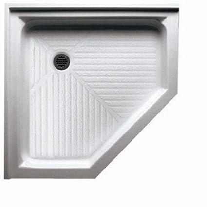 Acrylic Neo Angle Shower Base Size 42 W X 42 D Amazon Com