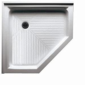 "Acrylic Neo Angle Shower Base Size: 42""W x 42""D - - Amazon.com"