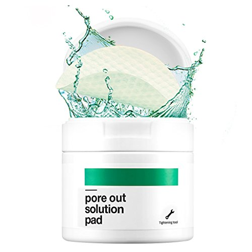 ([BELLAMONSTER] Pore Out Solution Pad 155ml 70ea / Watermelon Seed Oil & Xylitol Pore Cleansing Pad, Shrinks Pores with 3D Embossed Pad, Sebum Control Moisturizing & Cooling Care, Soften Tired Pores)