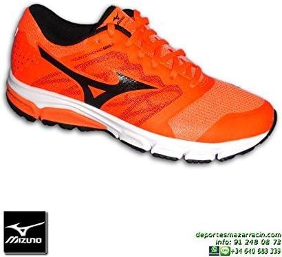 Mizuno SYNCHRO MD 2 Zapatilla Running Naranja - 44: Amazon.es ...