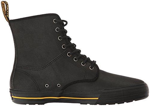 Dr.Martens Mens Winsted 8-Eyelet Leather Boots Black