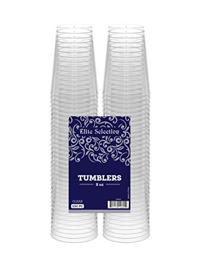 Elite Selection Clear Plastic Tumblers product image