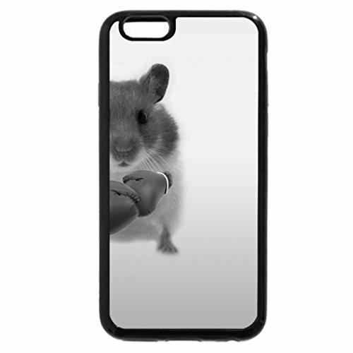 iPhone 6S Plus Case, iPhone 6 Plus Case (Black & White) - Boxing