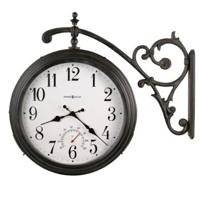 (Howard Miller Luis Outdoor Wall Clock Grandin Road)
