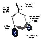 Seattle Sports 061600 Paddleboy Peanut Kayak Cart (Silver)