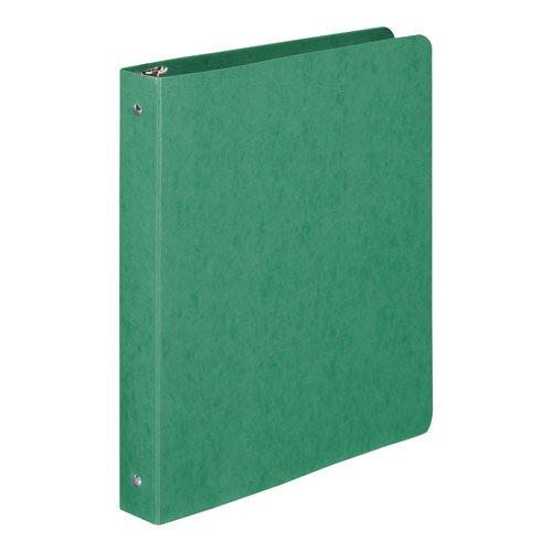 ACCO Presstex 1 Inch Ring Binder, 8.5 x 11 Inch Sheet Size, Dark Green (A7038616A) (Dark Green Binders)