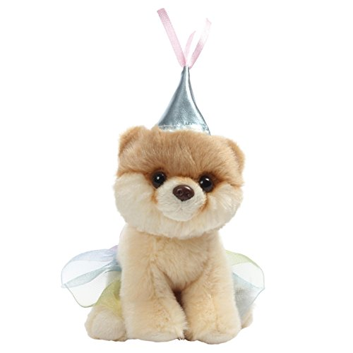 GUND Worlds Cutest Dog Boo Itty Bitty Boo #046 Princess Stuffed Animal Plush, 5