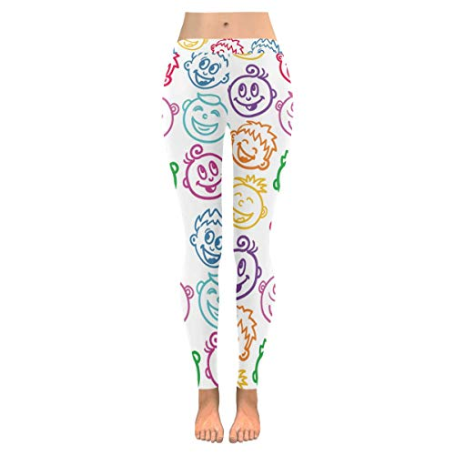 e9f0e24bf0265 InterestPrint Custom Unique Stretchy Capri Leggings Skinny Pants Yoga  Running Pilates Gym(2XS-5XL