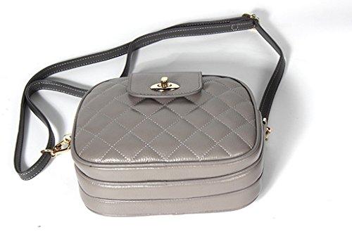 Sucastle Mujer bolsos de hombro Cuero Genuino Gran Capacidad,RFID Bloqueo,Genuina Hecho a Mano,Ideal para trabajo y viaje,#3 #5