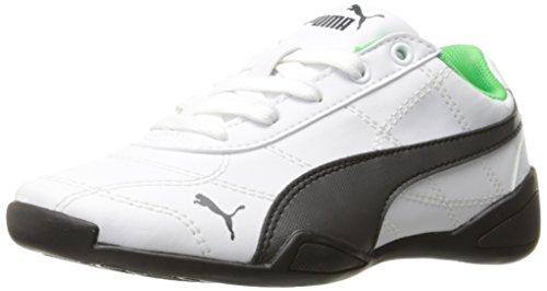 PUMA Kids' Tune Cat 3 PS Running Shoe, Puma White-Asphalt, 13.5 M US Little (Kids Puma Shoes)