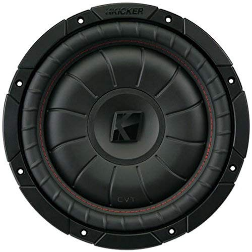 KICKER Compvt CVT102 (43CVT102) The Compvt 10-Inch Subwoofer is a 2-Ohm Slimline Driver