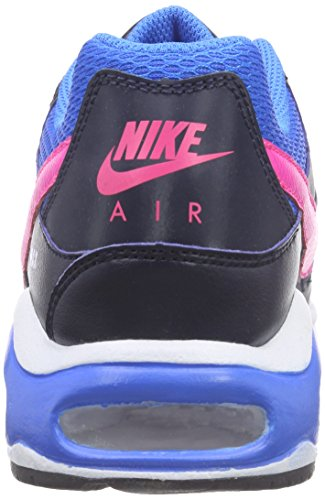 Nike Unisex-Kinder Air Max Command (GS) Low-Top Schwarz (Obsidian/Pink Pow-Photo Blue 464)
