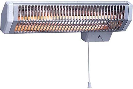 PC noirot Royat 2de infrarrojos con tubo cuarzo/Larg: 450mm-h: 120mm-epaiss: 110mm/con contador–puiss: 600W/color blanco/7908–2AA