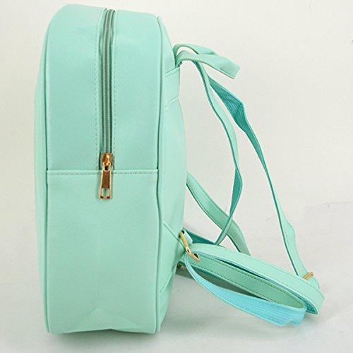 Heidi Bag Clear Candy Backpacks Teenager Ita Bag Transparent Love Heart School Bags Girls Kids Satchel by Heidi Bag (Image #3)