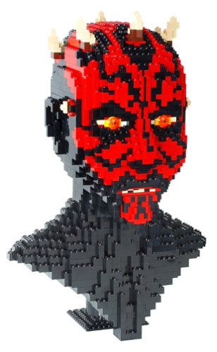 Amazon Lego Star Wars Episode 1 Darth Maul Sculpture Toys Games