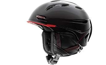 Smith Optics Vantage Helmet, Small, Black, Red Truetype