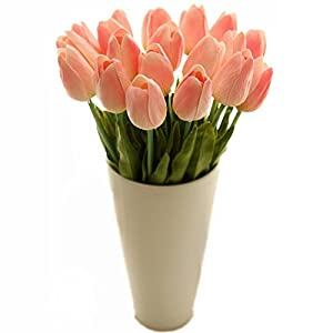 Gaomall - Wholesale Tulip Flower Latex Real Touch For Wedding Bouquet Birthday Party Room Decoration Best Quality Tulip Flower 3