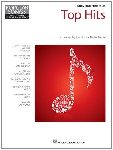 Top Hits: Hal Leonard Student Piano Library Popular Songs Series Intermediate Level