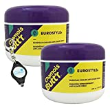 Chamois Butt'r Cooling Anti-Chafe Cream, Eurostryle - 2 Pack (16 fl oz) Bundle with a Lumintrail Keychain Light