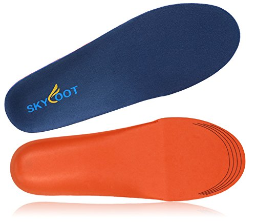 Skyfoot's Orthotics Insoles for Flat Feet - Help against Plantar Fasciitis, Heel Pain and Pronation