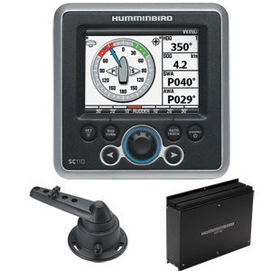 Humminbird SC 110 Autopilot System Kit - Computer, Control Head, Rudder Feedback & Cable