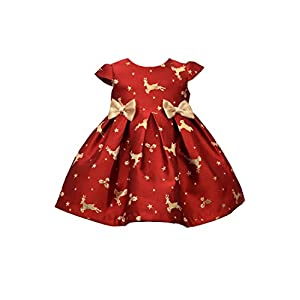 Best Epic Trends 414MT5-L4vL._SS300_ Bonnie Baby Holiday Dresses Girls Christmas Dress