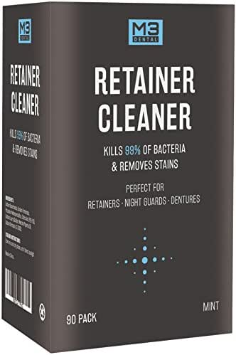Premium Dental Denture and Retainer Cleaner Tablets (3 Month Supply)