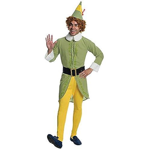 Rubieu0027s Elf Movie Buddy The Elf Costume Green Standard Size  sc 1 st  Amazon.com & Christmas Costumes: Amazon.com