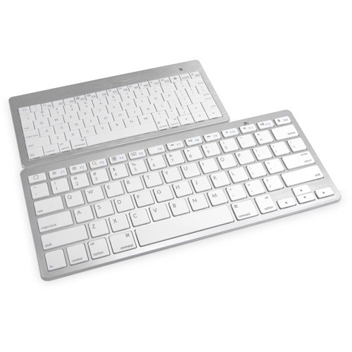 Panasonic Toughpad 4K Keyboard, BoxWave [Desktop Type Runner Keyboard] Portable, Lightweight Bluetooth Keyboard for Panasonic Toughpad 4K - Jet Black by BoxWave (Image #1)