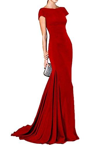 Vestido mujer Topkleider Topkleider Vestido para para Rojo qw7qRPfF
