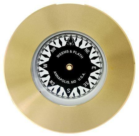 Weems & Plath Marine Navigation Compass Chart Weight  (Brass)