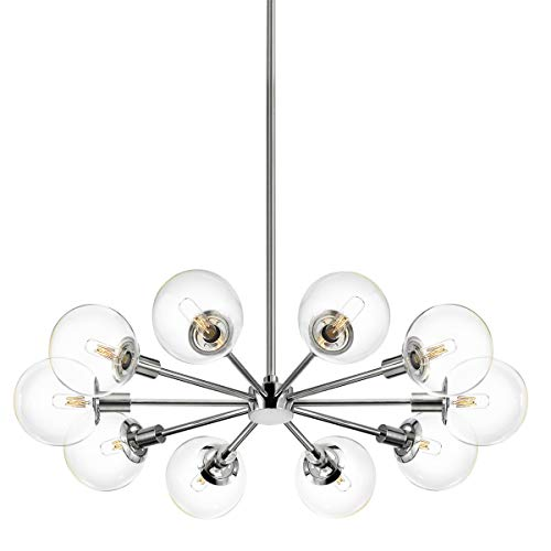 Orb 10 Light Pendant By Sonneman