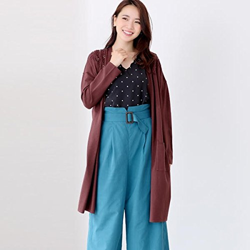 ミューズ リファインド クローズ(MEW'S REFINED CLOTHES) 立体刺繍ロングトッパー