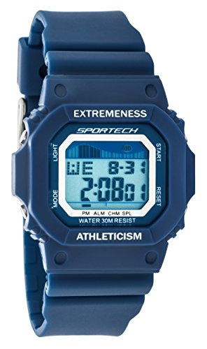 Navy Blue Digital Sport Watch - 6