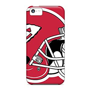 New Tpu Hard Case Premium Iphone 5c Skin Case Cover(kansas City Chiefs)