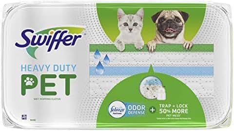 Mops & Accessories: Swiffer Sweeper Wet Heavy Duty Pet Mopping Pad Refills