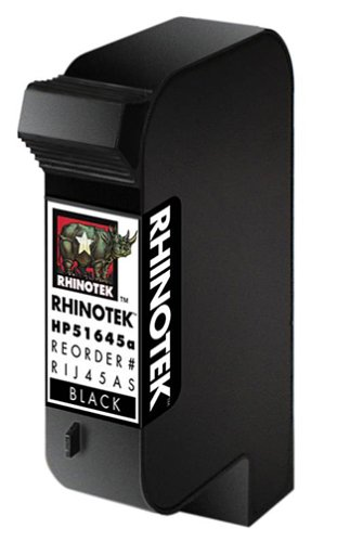 Rhinotek Compatible Hp Toner - Rhinotek compatible for HP Color Copier 110, 51645A Black Ink 1pk (RIJ45AS)