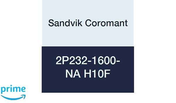 1.1417 Depth of Cut Maximum Sandvik Coromant 2P232-1600-NA H10F CoroMill Plura Solid Carbide Square Shoulder End Mill 0.6299 Cutting Diameter 3.622 Overall Length 16 mm Shank