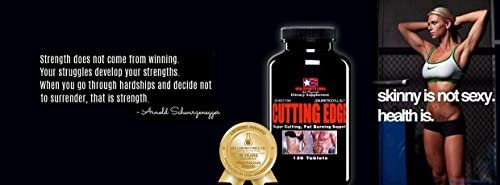 Cutting Edge - Natural Diuretic for Muscle Definition and Weight Loss with L-Carnitine, Green Tea Concentrate, Vitamin B-6 and Potassium - 120 Count 4