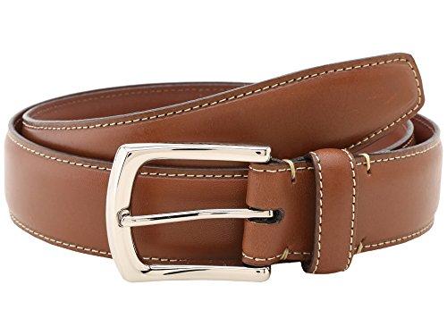 - Torino Leather Co. Men's 35MM Burnished Tumbled Saddle Tan 32