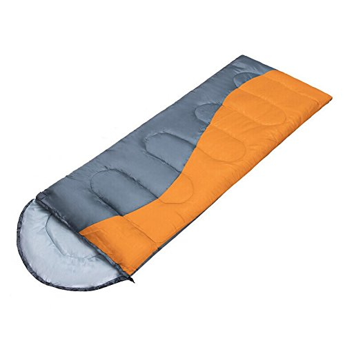 DSC-Mart Splicing Adult Winter Outdoor Cotton Couples Envelope Sleeping Bag Warm for Ourdoor Camping Hiking with Carry Bag Lightweight.