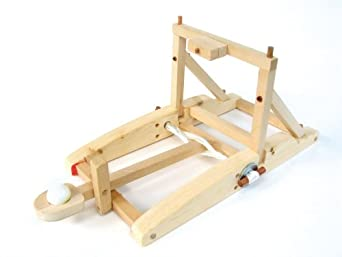 pathfinders medieval catapult wooden kit toys games. Black Bedroom Furniture Sets. Home Design Ideas