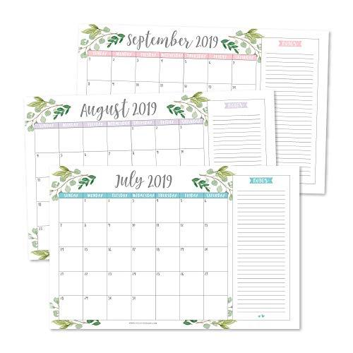 business desktop calendars
