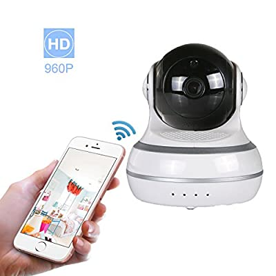 960P WiFi IP Camera Wireless Home Security Camera with Night Vision Surveillance CCTV Camera Baby Pet Monitor Support 64GB Micro SD Card Night Vision Two-way Audio Motion Detection Pan/Tilt/Zoom by YINDAI that we recomend individually.