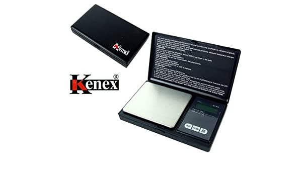 (Kenex) Professional Digital Pocket Scale Eternity: Amazon.es: Electrónica